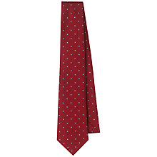 Buy Aquascutum Polka Dot Print Tie Online at johnlewis.com
