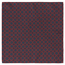 Buy John Lewis Silk Print Pocket Square Online at johnlewis.com