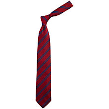 Buy Chester Barrie Reppe Stripe Silk Tie Online at johnlewis.com