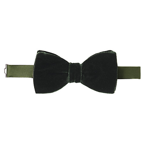 Buy John Lewis Velvet Bow Tie Online at johnlewis.com