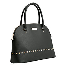 Buy Mango Studded Tote Bag, Black Online at johnlewis.com