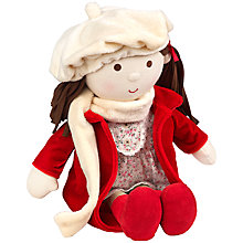 Buy Silver Cross Christmas Holly Doll Online at johnlewis.com