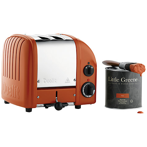 Buy Dualit Heritage NewGen 2-Slice Toaster, Heat Online at johnlewis.com
