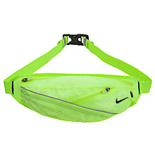 Buy Nike Lightweight Audio Waistpack, Volt Online at johnlewis.com