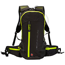 Buy Ronhill Vizion 20 Litre Backpack, Black/Yellow Online at johnlewis.com