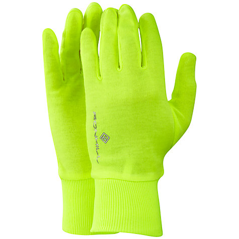 Buy Ronhill Lite Gloves, Yellow Online at johnlewis.com