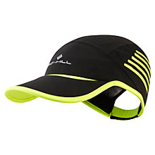 Buy Ronhill Storm Cap, Black/Yellow Online at johnlewis.com