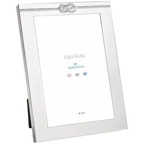 "Buy Vera Wang Infinity Photo Frame, 4 x 6"" (10 x 15cm) Online at johnlewis.com"