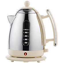 Buy Dualit Heritage Jug Kettle and NewGen 2-Slice Toaster, Clay Online at johnlewis.com