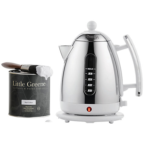 Buy Dualit English Heritage Jug Kettle, Pearl Online at johnlewis.com