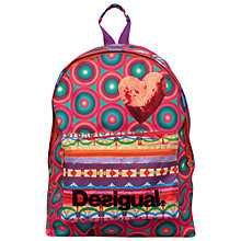 Buy Desigual Tuc Girl's Backpack, Multi Online at johnlewis.com