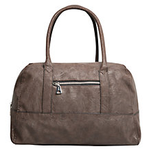Buy Mango Zip Detail Bowling Handbag Online at johnlewis.com