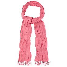 Buy White Stuff Catch Me Scarf, Sweet Sorbet Online at johnlewis.com