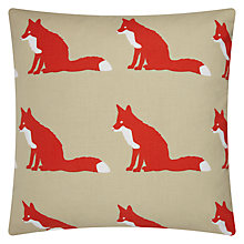 Buy Anorak Proud Fox Cushion Online at johnlewis.com