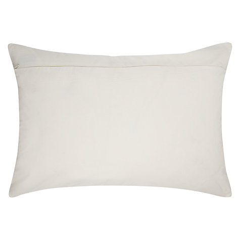Buy Niki Jones Folk Cushion, Ecru Online at johnlewis.com