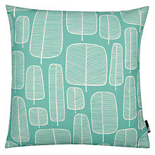 Buy MissPrint Little Trees Cushion, Aqua Online at johnlewis.com