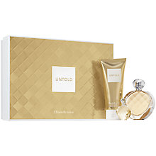 Buy Elizabeth Arden Untold Eau de Parfum Fragrance Set, 50ml with Holiday Gift Set Online at johnlewis.com