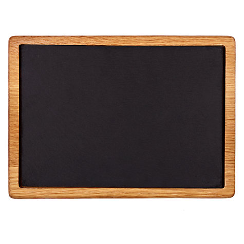 Buy John Lewis Slate and Wood Serving Board Online at johnlewis.com