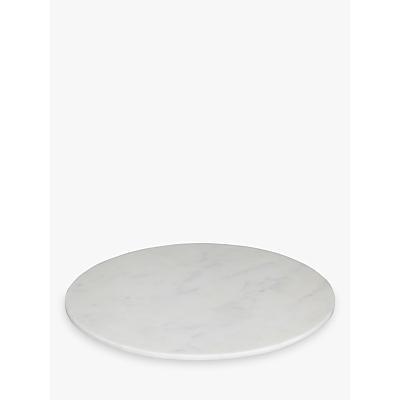 John Lewis Marble Cheeseboard, White