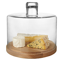 Buy LSA Lotta Cake/ Cheese Dome, Dia.25cm Online at johnlewis.com