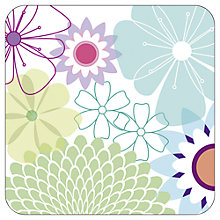 Buy Pimpernel Crazy Daisy Coasters, Set of 6, Multi Online at johnlewis.com