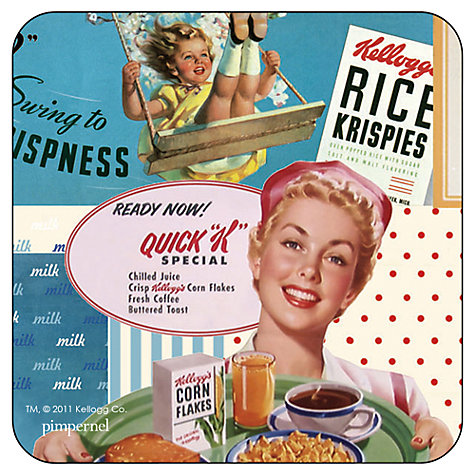 Buy Pimpernel Vintage Kellogg's Coasters, Set of 6 Online at johnlewis.com