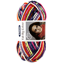 Buy Patons Fab Big Colour Super Chunky Yarn, 200g Online at johnlewis.com