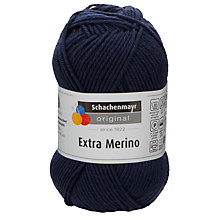Buy SMC Extra Merino DK Yarn, Navy Online at johnlewis.com