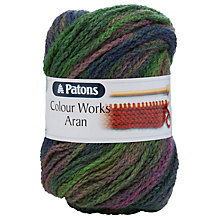 Buy Patons Colour Works Aran Yarn Online at johnlewis.com
