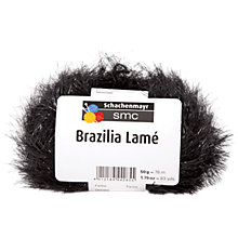 Buy Schachenmayr Brazilia Lame, 50g, Black 85 Online at johnlewis.com