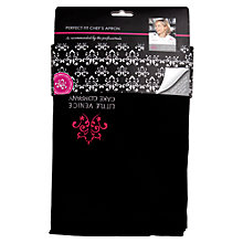 Buy Little Venice Cake Company Perfect Fit Apron, Black Online at johnlewis.com