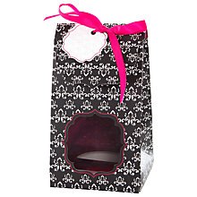 Buy Little Venice Cake Company Single Cupcake Boxes, Pack of 4, Black/Pink Online at johnlewis.com