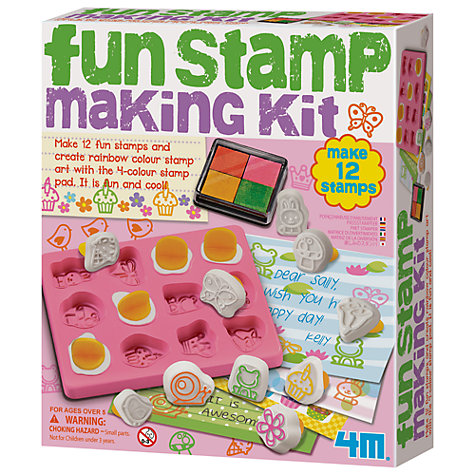 Buy Great Gizmos Fun Stamp Making Kit Online at johnlewis.com