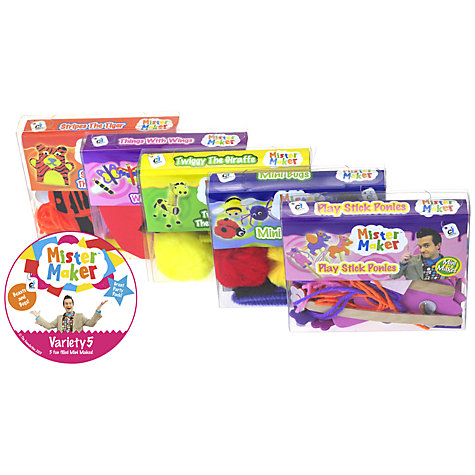 Buy Mister Maker Mini Makes Multi Pack Online at johnlewis.com