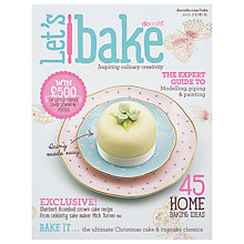 Buy Docrafts Let's Bake Magazine, Issue 2 Online at johnlewis.com