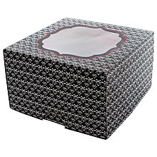 Buy Little Venice Cake Company 25.5cm Cake Boxes, Pack of 2, Black Online at johnlewis.com