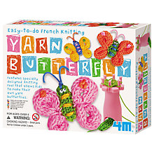 Buy Great Gizmos Yarn Butterflies Knitting Kit Online at johnlewis.com