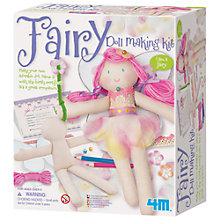 Buy Great Gizmos Fairy Doll Making Kit Online at johnlewis.com