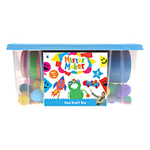 Buy Mister Maker Cool Craft Box, Blue Online at johnlewis.com