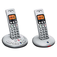Buy BT Graphite 3500 Digital Cordless Telephone and Answer Machine, Twin DECT Online at johnlewis.com