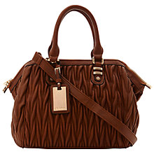 Buy Dune Darrelquilt Barrel Handbag Online at johnlewis.com