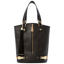 Buy Dune Dassy Zip Front Buckle Bucket Bag Online at johnlewis.com