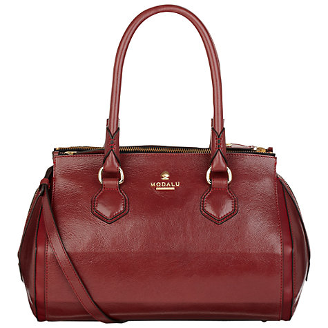 Buy Modalu Sedgewick Barrel Handbag Online at johnlewis.com