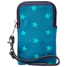 Buy Fossil Keyper Carryall Purse, Teal Stars Online at johnlewis.com