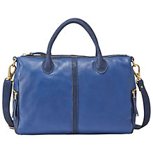 Buy Fossil Erin Leather Satchel Online at johnlewis.com