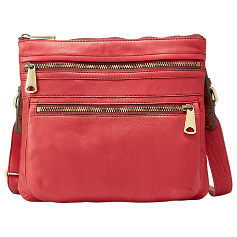 Buy Fossil Explorer Crossbody Bag Online at johnlewis.com