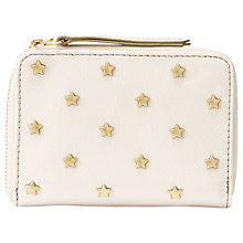 Buy Fossil Sydney Star Multi-Function Purse, Bone Online at johnlewis.com