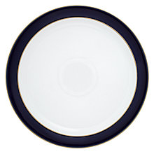 Buy Denby Malmo Dinner Plate, Dia.27cm, Blue/ White Online at johnlewis.com