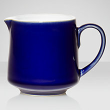Buy Denby Malmo Jug, 0.3L, Blue/ White Online at johnlewis.com