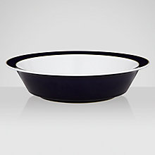 Buy Denby Malmo Serving Bowl, Dia.29cm, Blue/ White Online at johnlewis.com